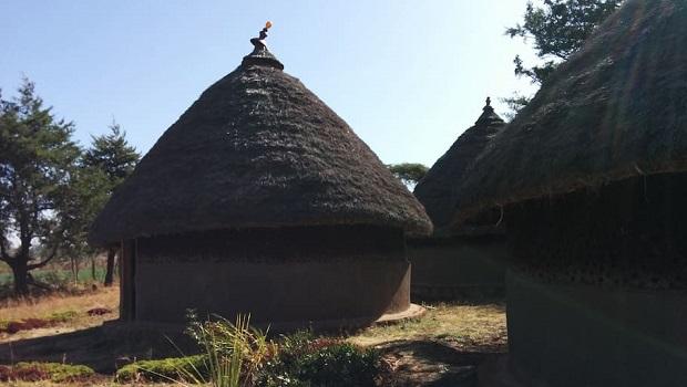 Eco Lodge traditionnel à Waliso
