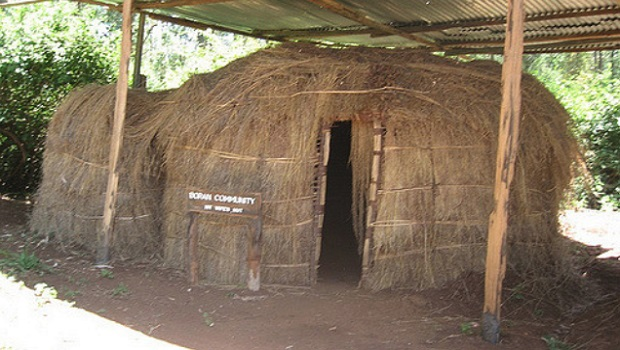 hutte traditionnelle kenya