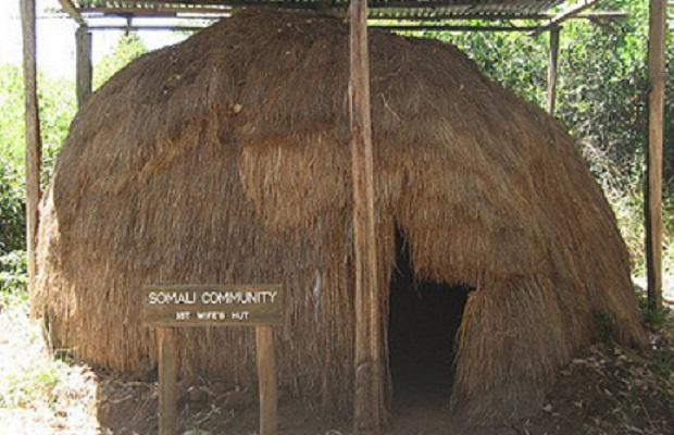 maison tradidionnelle du kenya