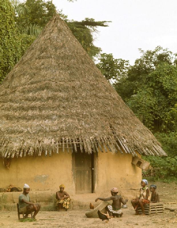 hutte liberia