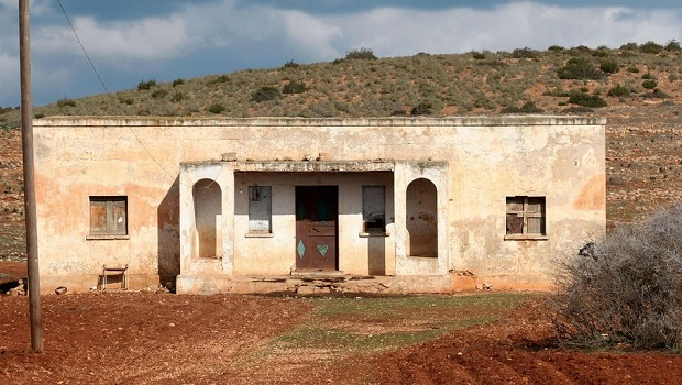 Ancienne maison italienne en Libye