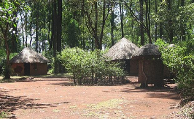 hutte typique du kenya