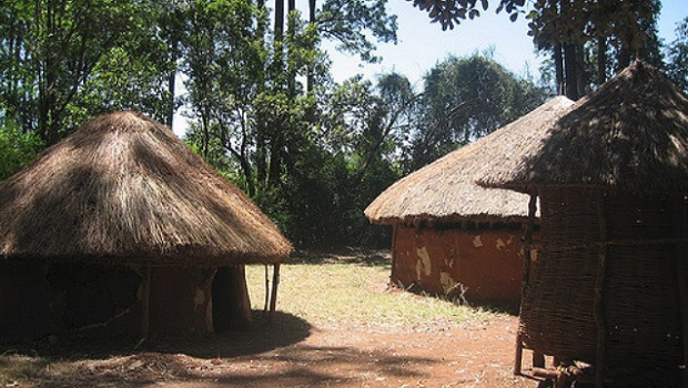 hutte traditionnelle du kenya