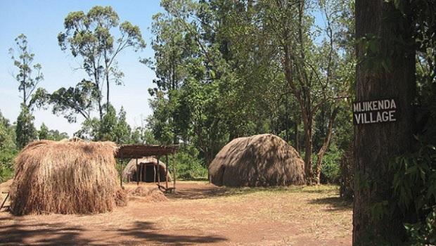 huttes traditionnelles du kenya