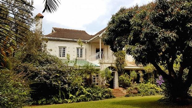 Maison coloniale au kenya