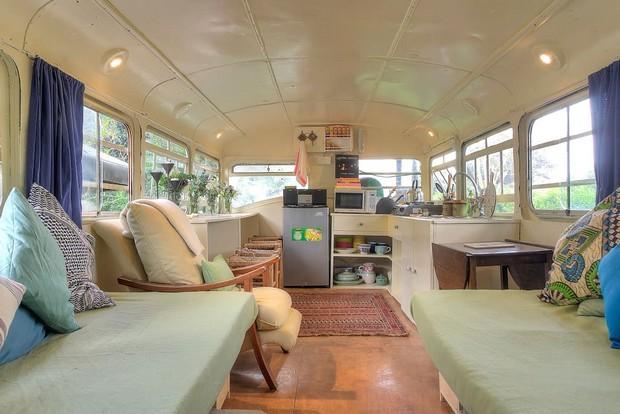 Un Bus Transform 233 En Une Charmante Habitation
