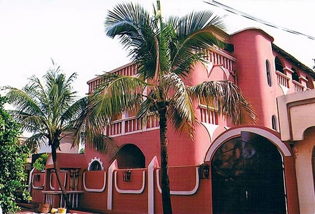 maison colorée bamako