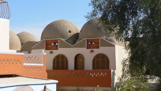 Lodge atypique en Égypte