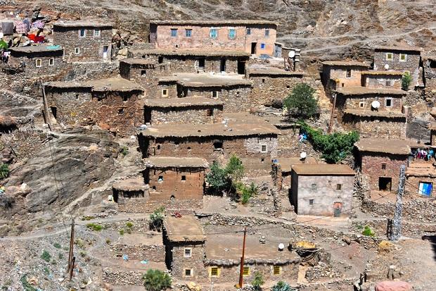 maison berbère traditionnelle