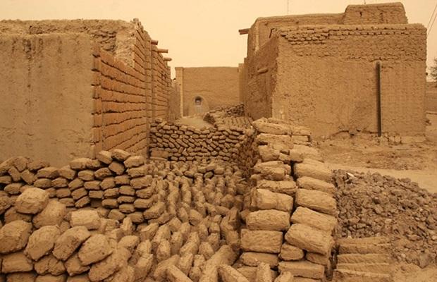 maison de boue traditionnelle tombouctou