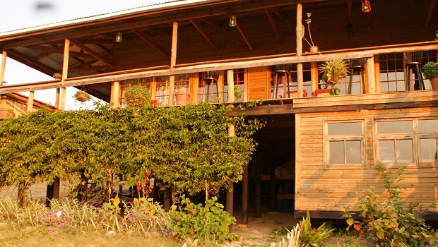 maison sur pilotis malawi