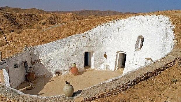 Maison troglodyte à Tripoli