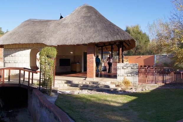 maison toit de chaume maseru
