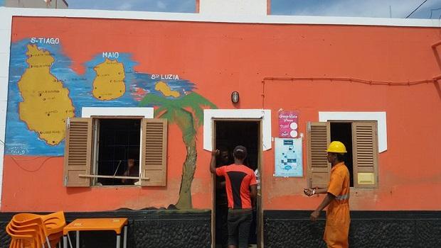 maison colorée palmeira