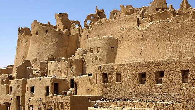 maisons traditionnelles siwa