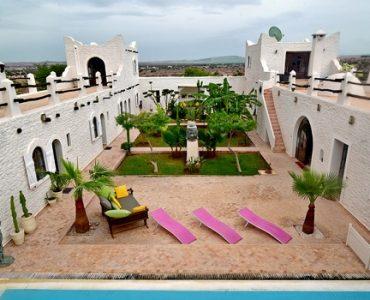 villa marocaine traditionnelle