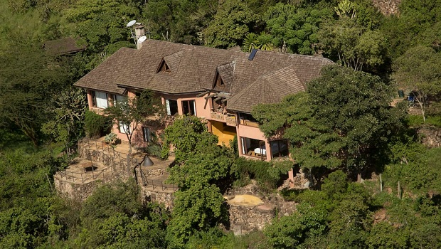 villa de luxe au kenya