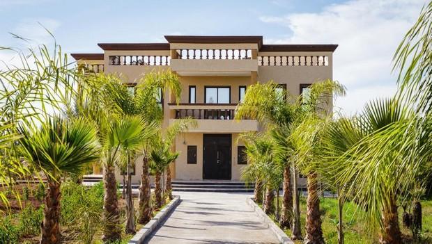 Facade Villa Au Maroc : Villa moderne au maroc