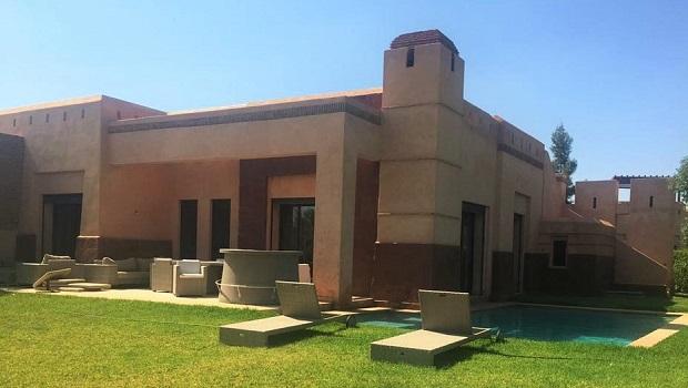 villa style traditionnel maroc
