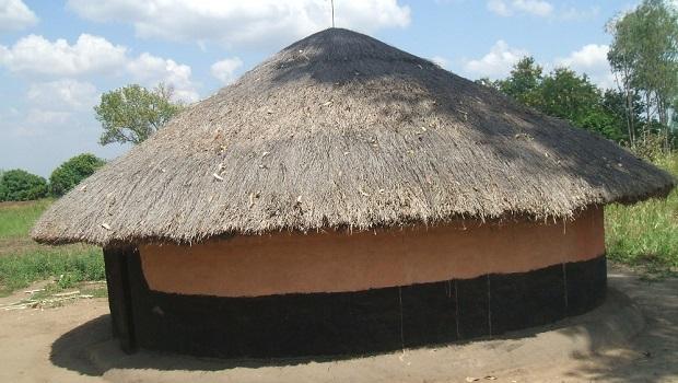La hutte du peuple Acholi