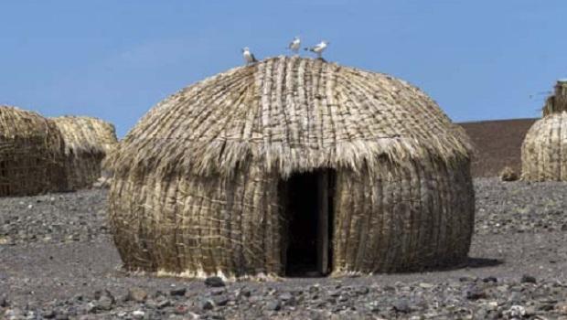 Les huttes du peuple El Molo