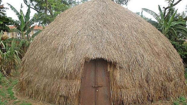 La hutte du peuple Hima