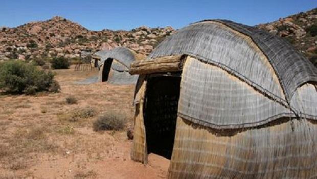La hutte du peuple Nama