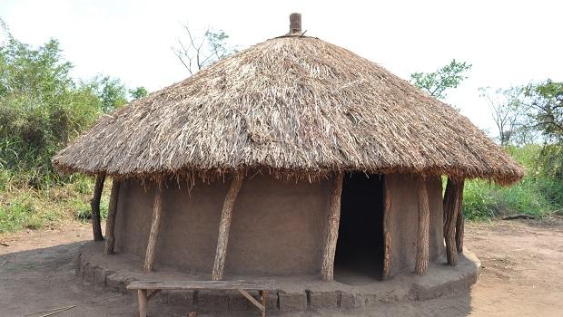 Les huttes traditionnelles en Ouganda