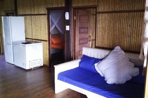 maison bois pilotis mozambique