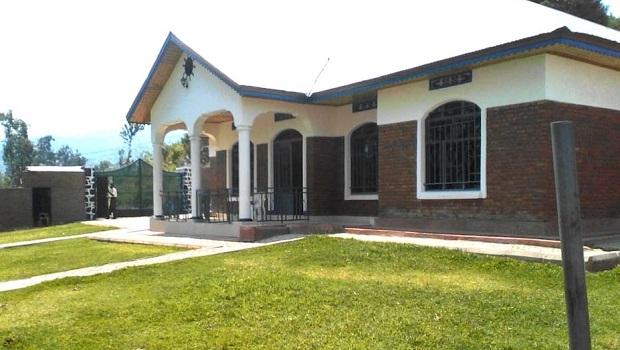 Maison en briques à Kibuye