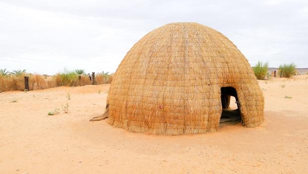 dome chaume sahara