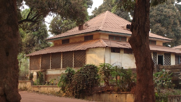 Les maisons coloniales de Boma