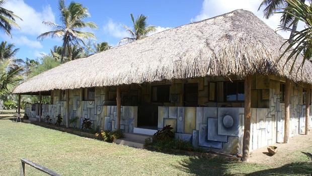 Maison du Mozambique aux motifs originaux