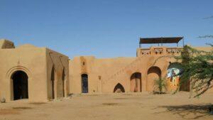 maison désert nigérien