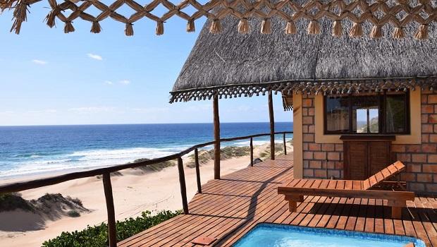 Superbe maison de plage en briques