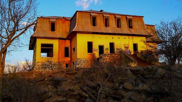 La maison fantôme de Windhoek