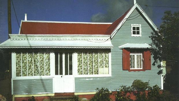 maison typique île maurice