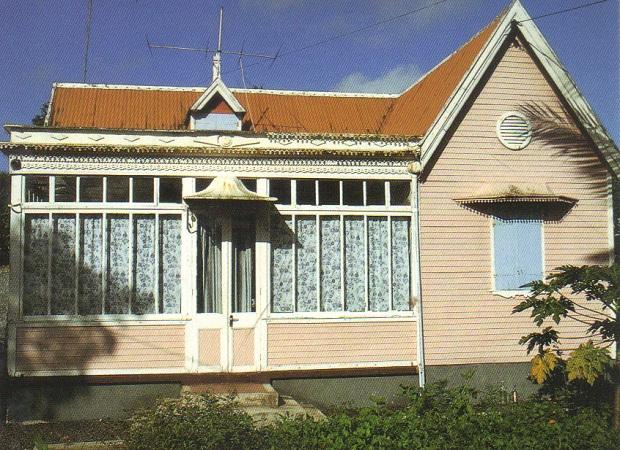 maison typique de l'île maurice