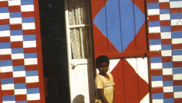 maison colorée maurice