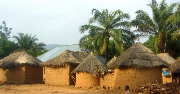 Les maisons traditionnelles au nigeria for Maison dans le monde