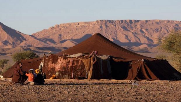 Tentes nomades des Maures / Berbères