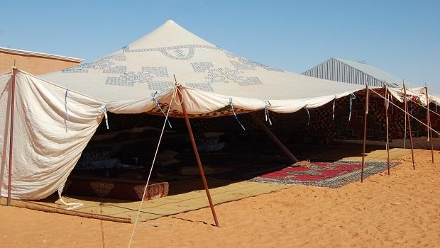 tente nomade maure
