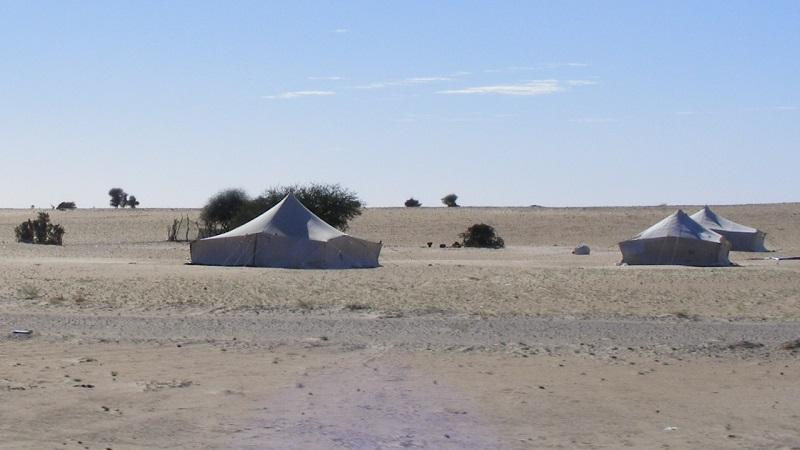 tente nomade mauritanie
