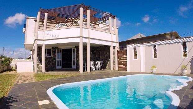 villa moderne maurice