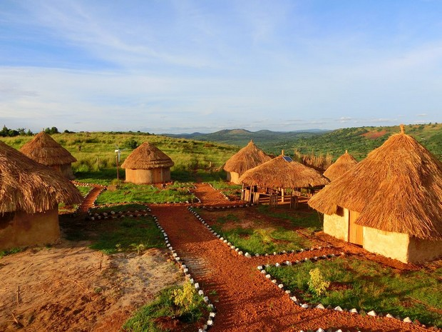 maisons ouganda