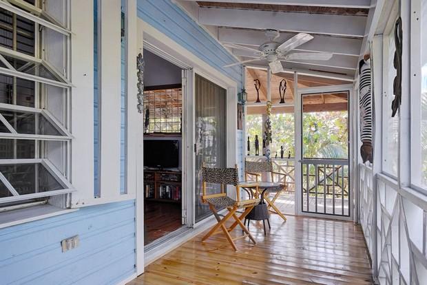 Maison tropicale nassau for Decoration maison tropicale