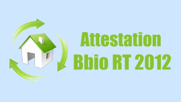 L attestation bbio rt 2012 for Attestation rt 2012 maison individuelle