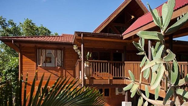 grande maison bois seychelles