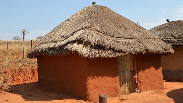 Maisons rurales au Swaziland