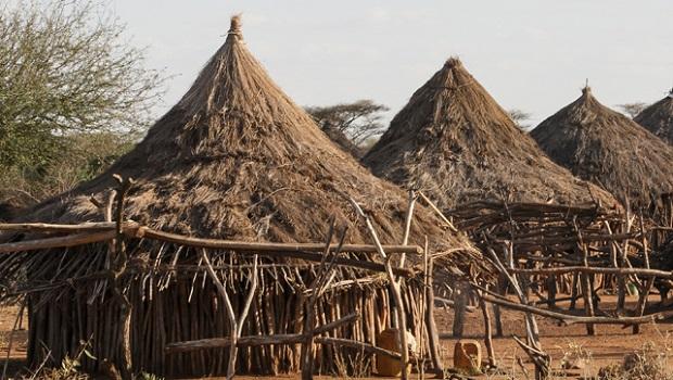 La hutte du peuple Hamer